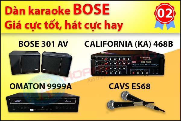 bộ dàn karaoke Bose chính hãng