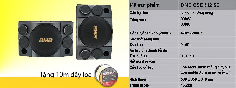 Loa BMB CSE 312 SE