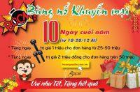 Tặng… Tặng… khuyến mãi 10 ngày cuối cùng với nhiều quà tặng cực đã tại Hoàng Audio