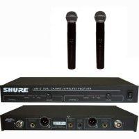 Micro không dây Shure LX88II cho dàn karaoke gia đình chuyên nghiệp