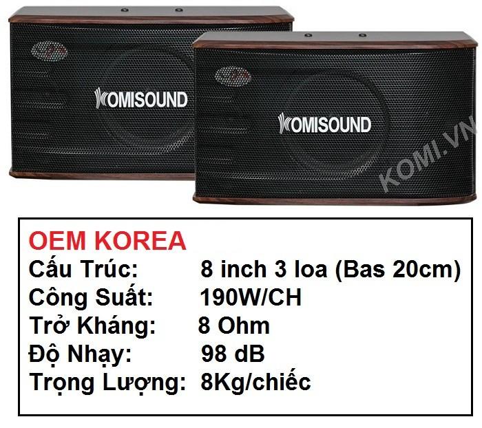 Loa Komisound KM 106