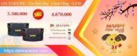 Top những đôi loa karaoke được chọn mua nhiều nhất dịp cuối năm