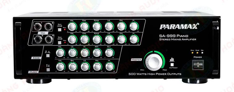 Đánh giá chiếc amply Paramax SA 999 Piano