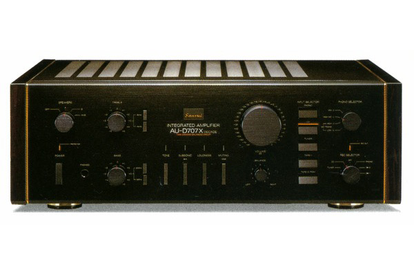Amply Sansui 707X Decade