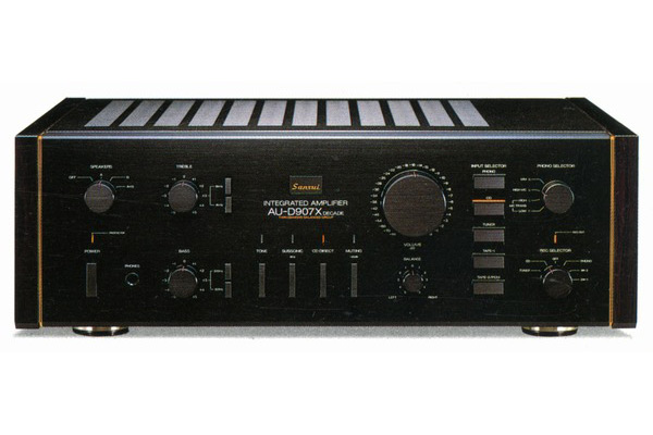 Amply Sansui 907X Decade